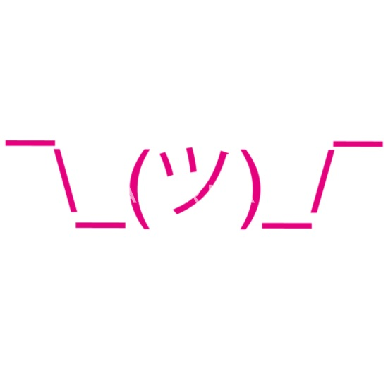 Ascii art emoticons