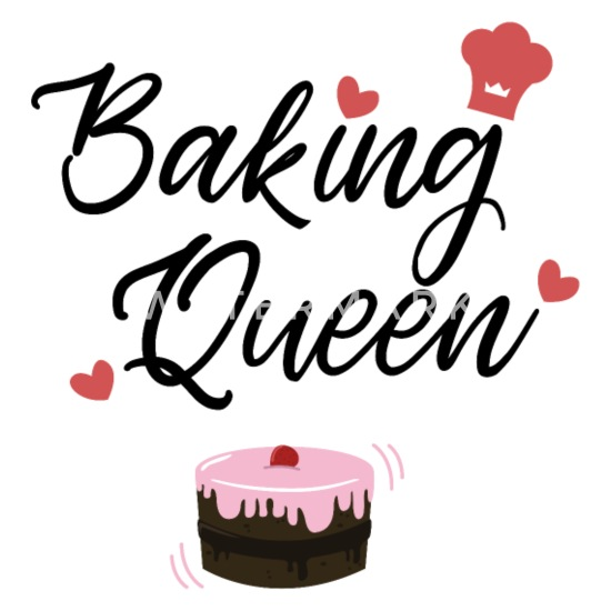 d3663aa6 Baking queen baker cake gift idea pie Apron | Spreadshirt