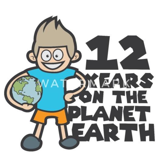Verjaardag 12 Jaar Jongen Bal Voetbal Comic Schort Spreadshirt