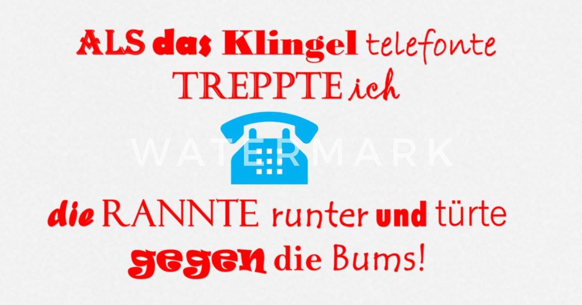 Lustige Sprueche Telefon Schurze Spreadshirt