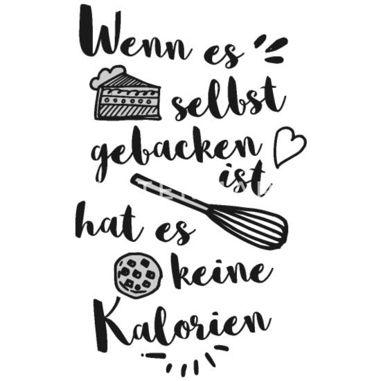 Lustig Spruch Backen Kuchen Muffin Cookie Diät Schürze