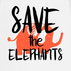 Save the Elephants - Tablier de cuisine