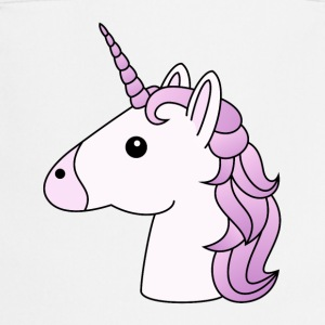 Unicorn head in lilac - Cooking Apron