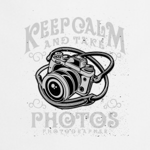 keep calm and take photos - Cooking Apron
