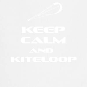 Kitesurfing - KEEP CALM AND KITELOOP - Forklæde