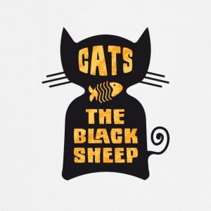 CATS - The Black Sheep - Cooking Apron