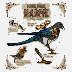 Stephunk Clockwork Magpie - Tablier de cuisine