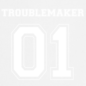 TROUBLE MAKER 01 - White Edition - Fartuch kuchenny