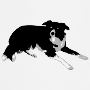 Border collie - Delantal de cocina