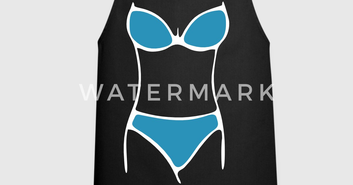 bikini von goldrausch fashion spreadshirt. Black Bedroom Furniture Sets. Home Design Ideas
