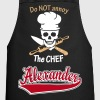 Alexander - The name as a sport swash - Cooking Apron