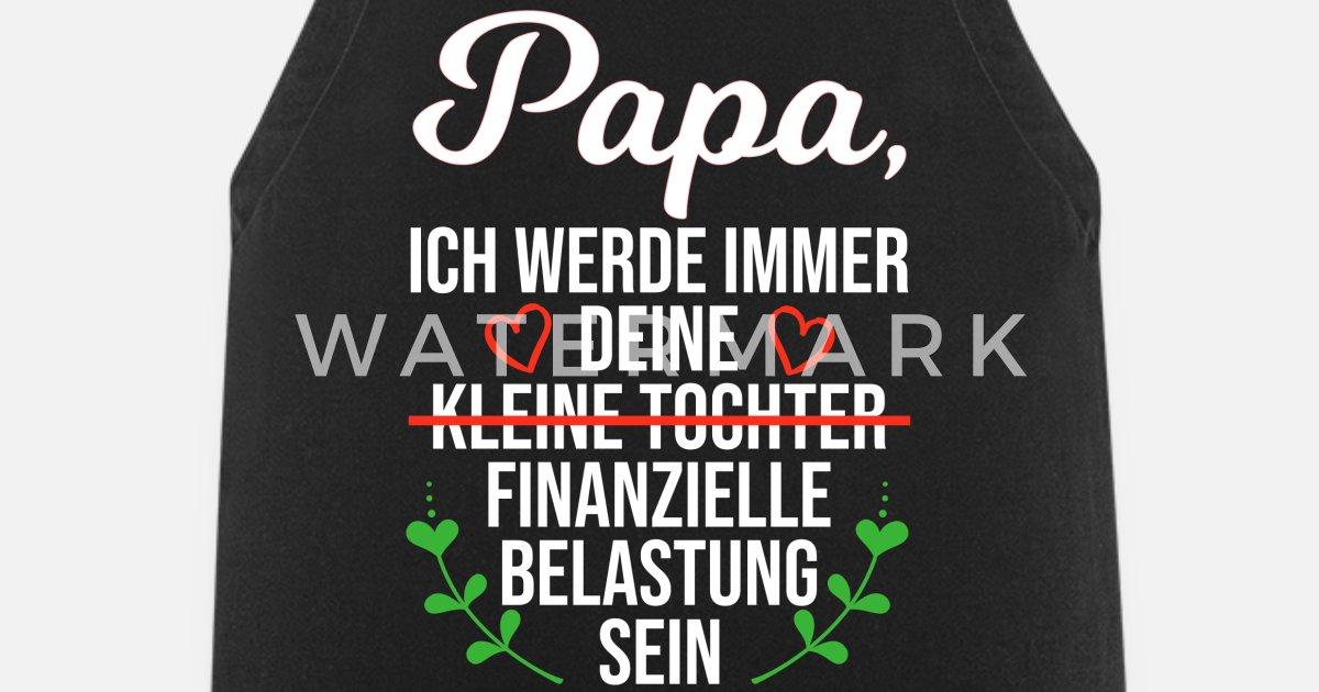 Papa Chefkoch Vater Koch T Shirt Spruch Sohn Tochter Kind
