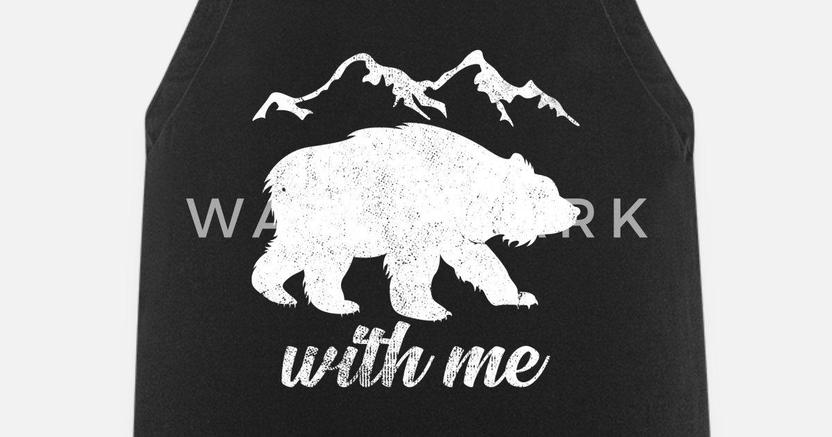 Cool Bären Wortspiel Lustige Sprüche Geschenk Schürze Spreadshirt