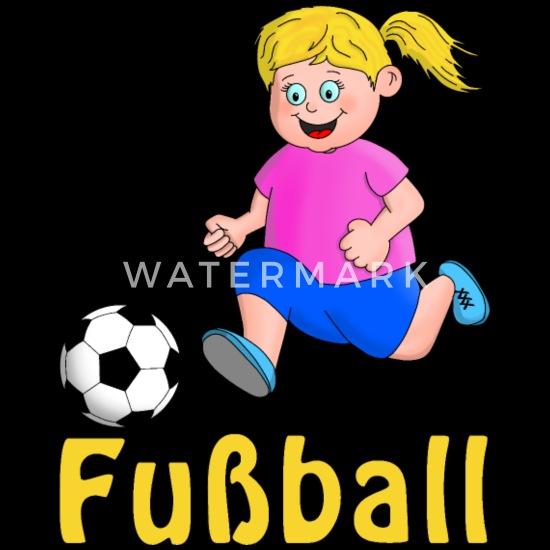 Junge Fussballerin Schurze Spreadshirt