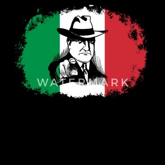 66906627b65 Mafia Boss Italia Bandera Regalo Italia Italia Delantal | Spreadshirt