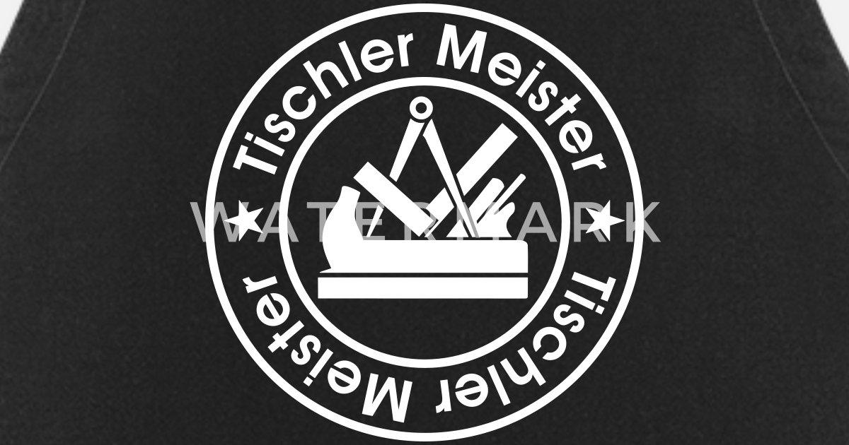 Tischler Meister Schreiner Zunftzeichen Schürze Spreadshirt