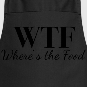 WTF - Where's the Food - Cooking Apron