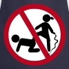 Funny No Dominatrix / Slave BDSM Sign - Kochschürze