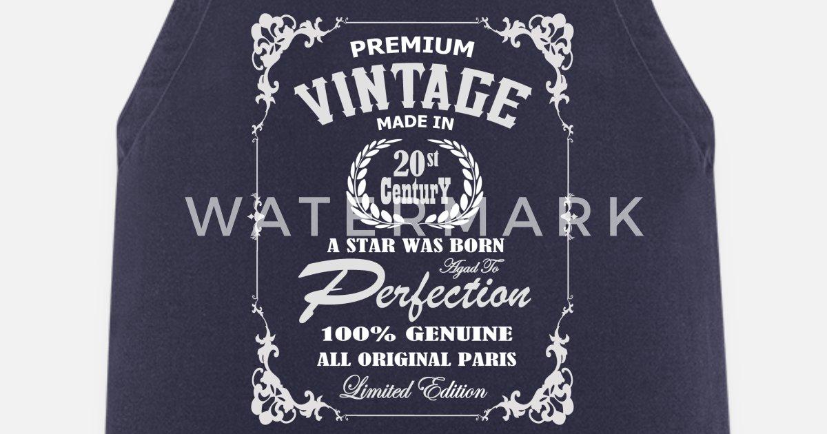 T skjorte vintage laget i 1900 tallet, bestselger Forkle