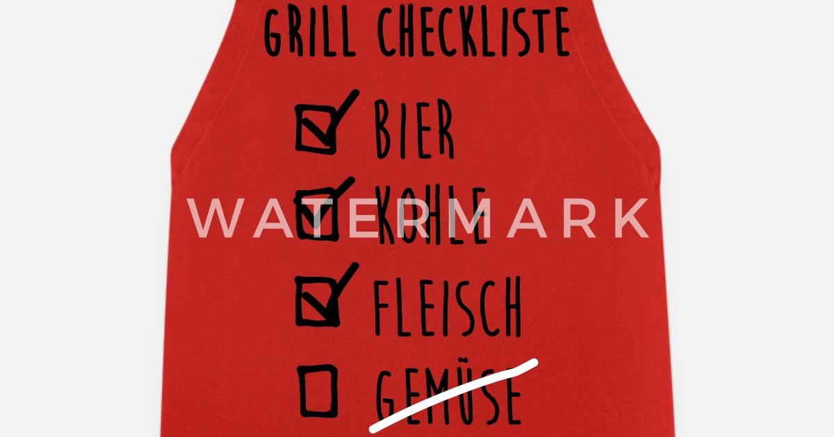Grill Checkliste von nektarinchen | Spreadshirt