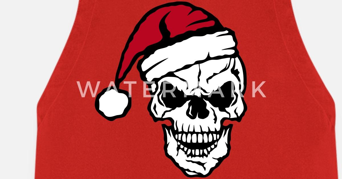Weihnachten Schädel Schädelkappe von c2b | Spreadshirt