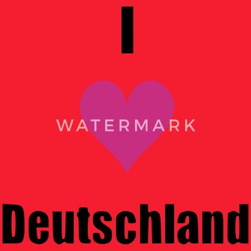 I Herz Deutschland Geschenk Geburtstag Herz Liebe Schurze Spreadshirt