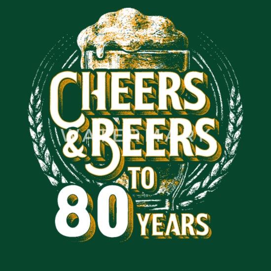 Super Proost Bier 80ste verjaardag 80 jaar oude geschenk Schort PO-76