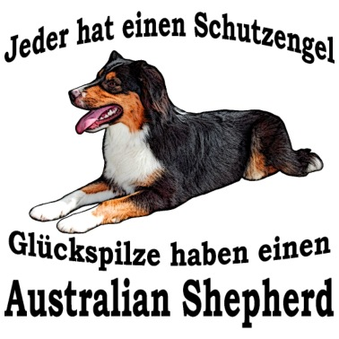 Australian Shepherd Mama Männer Premium T-Shirt | Spreadshirt
