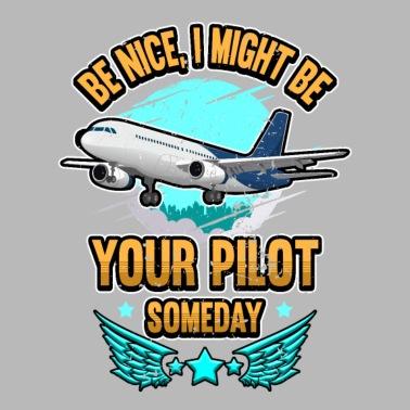 Futur pilote comme papa Bavoir Bébé Drôle Cadeau Nouveauté Humour Anniversaire Avion Vol