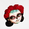 The Day of The Dead Beatiful Catrina Buttons - Baseball Cap