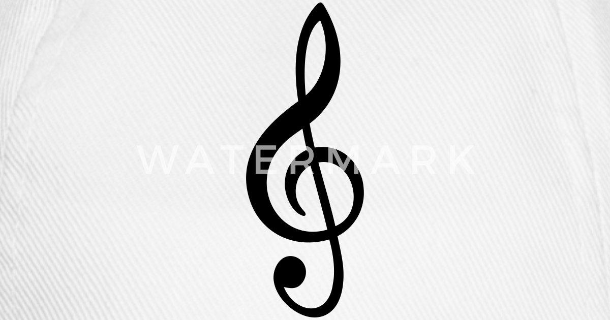 Notenschlüssel Musik Note Zeichen von HeartToHeart   Spreadshirt