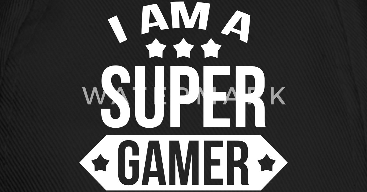 i am a super gamer by krampo spreadshirt