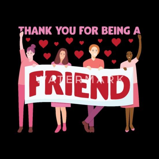 Freundschaft danke für Danke sagen:
