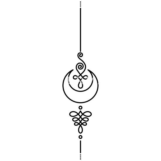 Unalome Tattoo Yoga Moon Men S Premium Hoodie Spreadshirt See more ideas about yoga tattoos, yoga logo, symbolic tattoos. unalome tattoo yoga moon men s premium