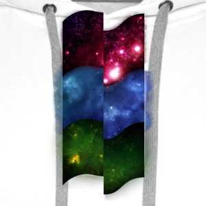 Tripple Space Pattern - Men's Premium Hoodie