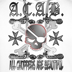 ACAB - ALL CHOPPERS ARE BEAUTIFUL - - Männer Premium Hoodie
