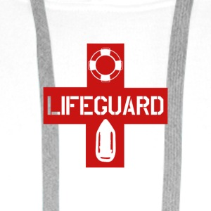 LIFEGUARD LIFESAVER - Sweat-shirt à capuche Premium pour hommes