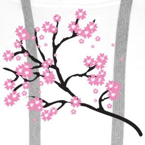 Cherry blossoms - Men's Premium Hoodie