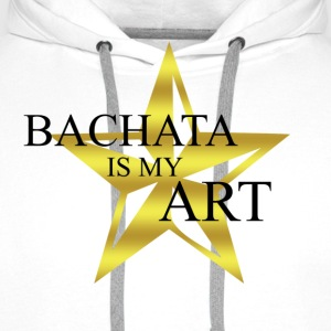 bachata_is_my_art - Sweat-shirt à capuche Premium pour hommes