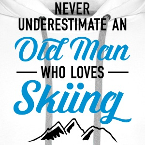 Never Underestimate An Old Man Who Loves Skiing