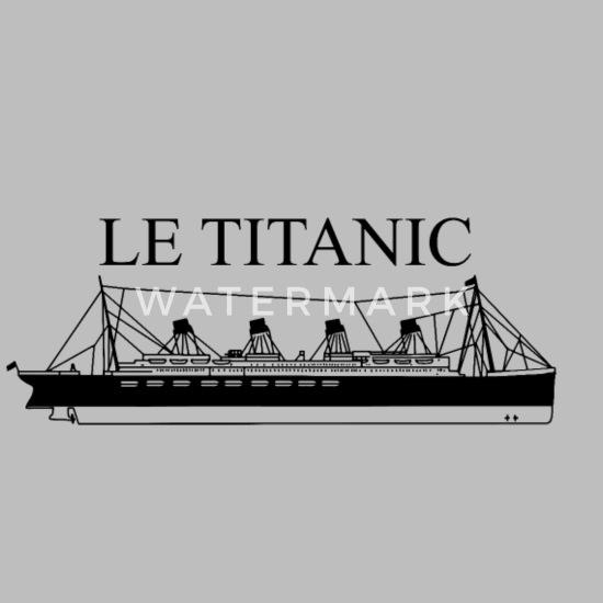 Bateau Le Titanic Sweat A Capuche Premium Homme Spreadshirt