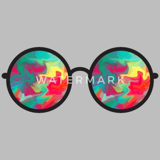 sjove solbriller bunte Sonnenbrille briller Premium