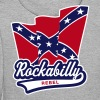 Rockabilly Rebel Flag - Men's Premium Hoodie