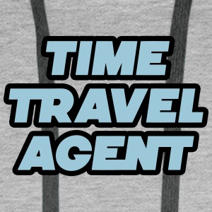 Time Travel Agent - Time Travel Agent - Men's Premium Hoodie