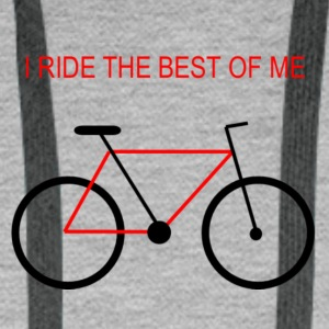 Bicycle_the_best_of_me_v2 - Herre Premium hættetrøje
