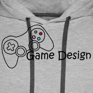 Game Design - Men's Premium Hoodie
