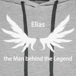 Elias the Man behind the Legend - Männer Premium Hoodie