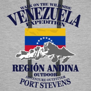 Venezuela - Flag & Mountains