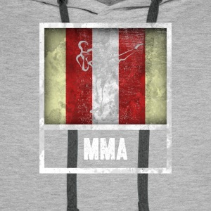 Vintage design for sports MIXED MARTIAL ARTS - Men's Premium Hoodie