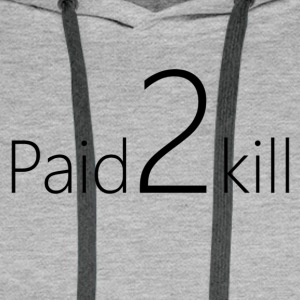 Paid2Kill - Premium hettegenser for menn